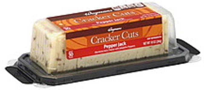 Wegmans Cracker Cuts Pepper Jack