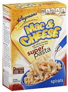 Wegmans Mac & Cheese Spirals