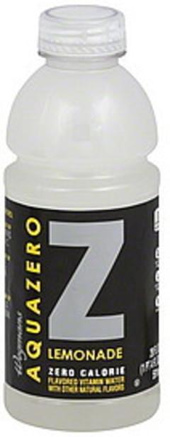 Wegmans Vitamin Water Zero Calorie, Lemonade