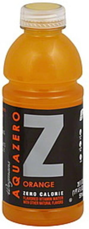 Wegmans Zero Calorie, Orange Vitamin Water - 20 oz