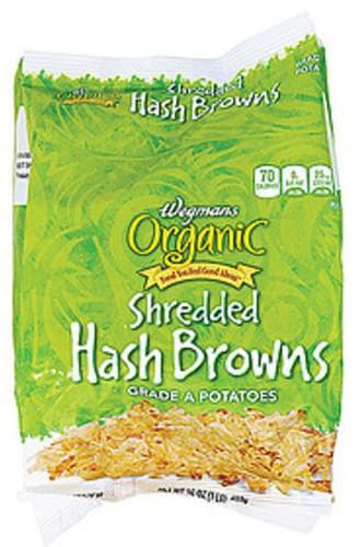 Wegmans Shredded Hash Browns Side Dishes - 16 oz
