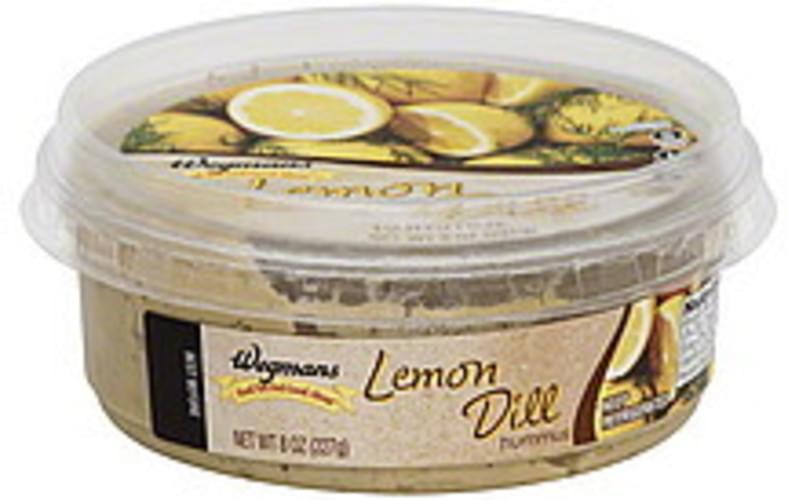 Wegmans Lemon Dill Hummus - 8 oz