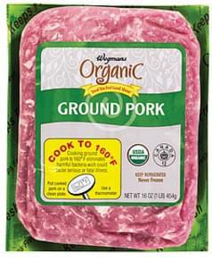 Wegmans Pork Ground Pork