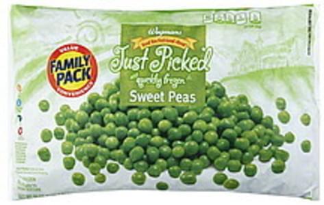 Wegmans Sweet Peas FAMILY PACK