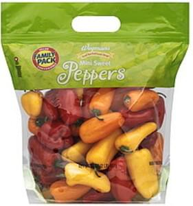 Wegmans Peppers Mini Sweet, FAMILY PACK