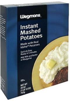 Wegmans Instant Mashed Potatoes