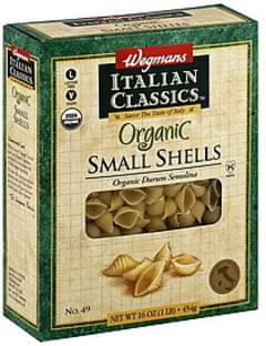 Wegmans Shells Small, No. 49
