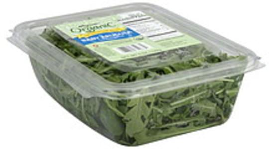Wegmans Baby Arugula Organic, Cold Water Washed