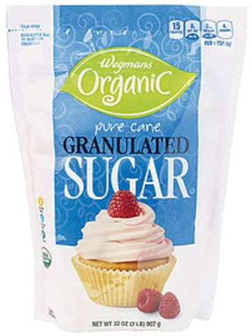 Wegmans Granulated Sugar, Pure Cane Sugar & Sweetener - 32 oz