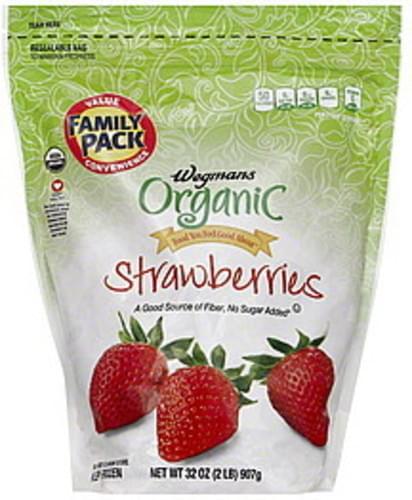 Wegmans FAMILY PACK Strawberries - 32 oz