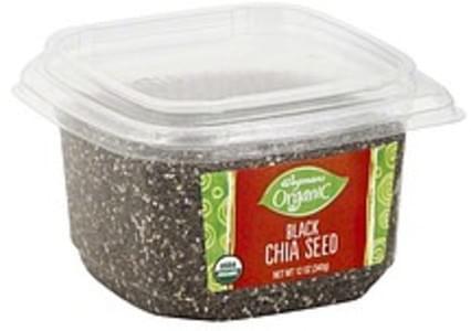 Wegmans Black Chia Seed