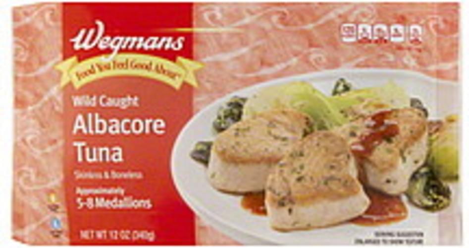 Wegmans Albacore, Wild Caught Tuna - 12 oz