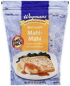 Wegmans Mahi-Mahi Wild Caught, Skinless & Boneless, FAMILY PACK