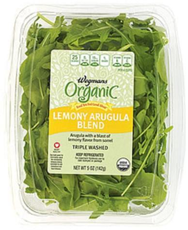 Wegmans Lemony Arugula Blend Non-Dairy Drinks - 5 oz