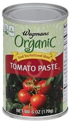 Wegmans Tomato Paste