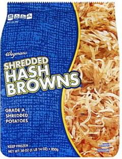 Wegmans Hash Browns Shredded