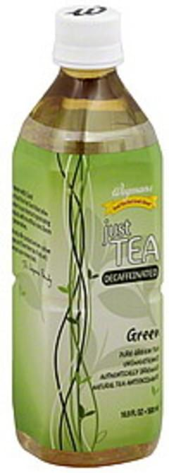 Wegmans Just Tea Green, Decaffeinated