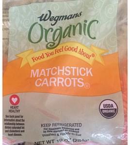 Wegman's Organic Food You Feel Good About Matchstick Carrots