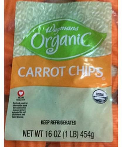 Wegmans Organic Carrot Chips - 85 g