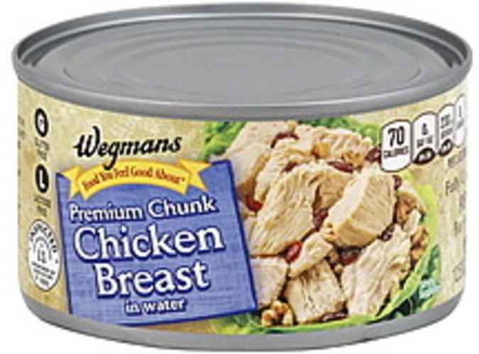 Wegmans Premium Chunk, in Water Chicken Breast - 12.5 oz