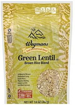 Wegmans Brown Rice Blend Green Lentil