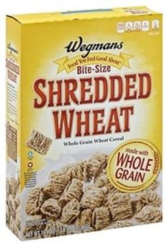 Wegmans Cereal Shredded Wheat, Bite-Size