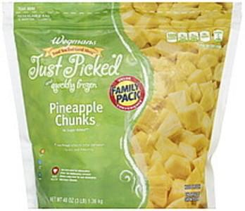 Wegmans Pineapple Chunks FAMILY PACK
