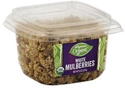 Wegmans White Mulberries