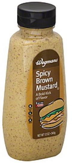 Wegmans Mustard Spicy Brown, Medium