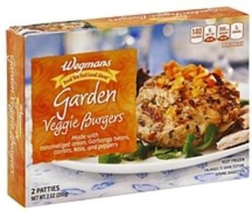 Wegmans Veggie Burgers Garden
