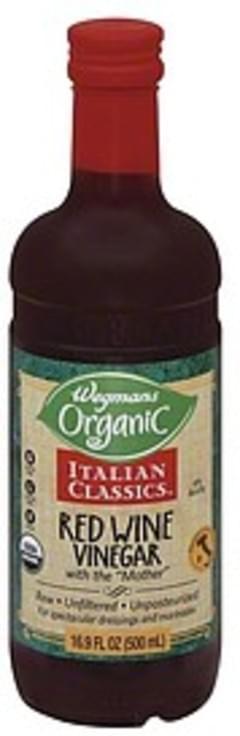 Wegmans Vinegar Red Wine, Unfiltered