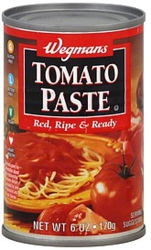 Wegmans Tomato Paste - 6 oz