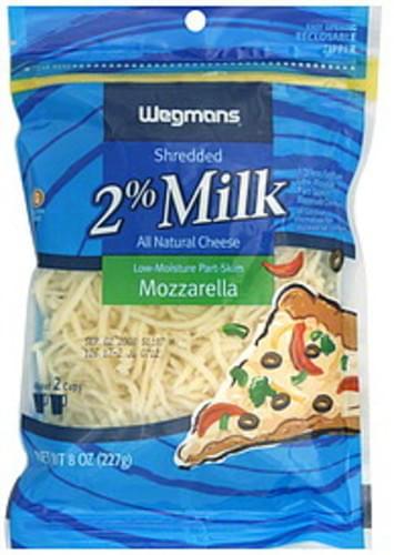 Wegmans Mozzarella Shredded Cheese - 8 oz