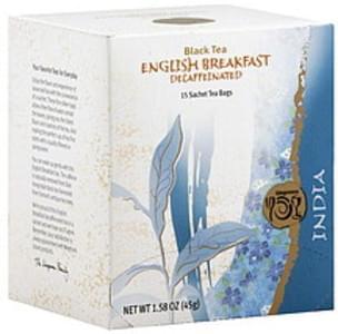 Wegmans Black Tea English Breakfast, Decaffeinated