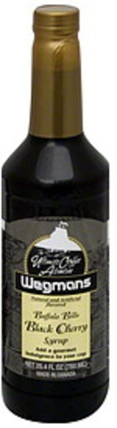Wegmans Syrup Buffalo Bills Black Cherry