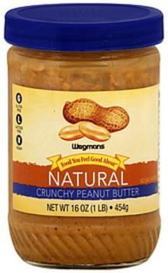 Wegmans Peanut Butter Natural, Crunchy