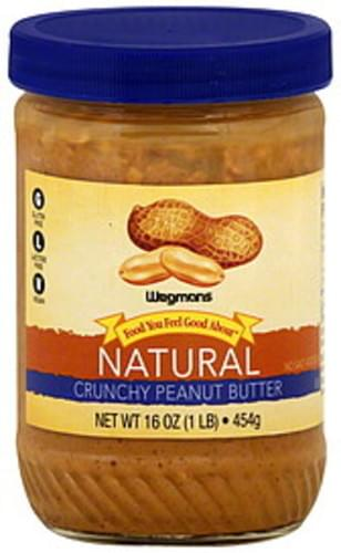 Wegmans Natural, Crunchy Peanut Butter - 16 oz
