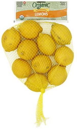 Wegmans Organic Lemons - 32 oz