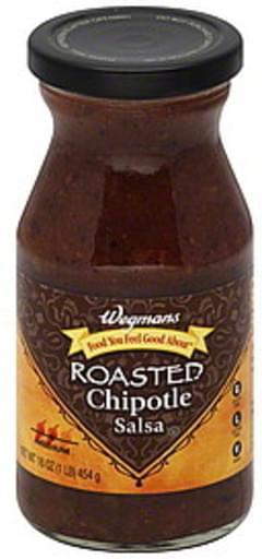 Wegmans Salsa Roasted Chipotle, Medium