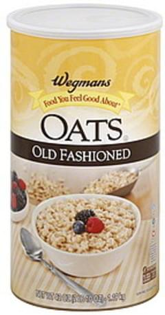 Wegmans Oats Old Fashioned