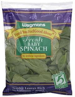 Wegmans Baby Spinach Fresh