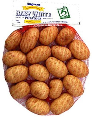 Wegmans Baby White Potatoes - 24 oz