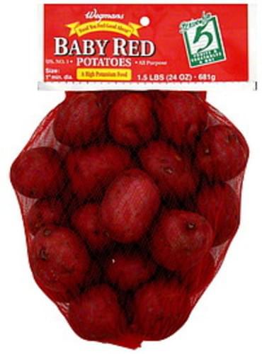 Wegmans Baby Red Potatoes - 24 oz