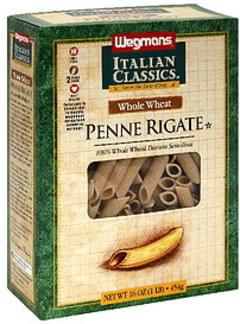 Wegmans Penne Rigate Whole Wheat