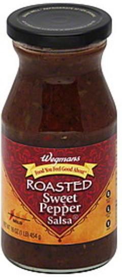 Wegmans Salsa Roasted Sweet Pepper, Mild