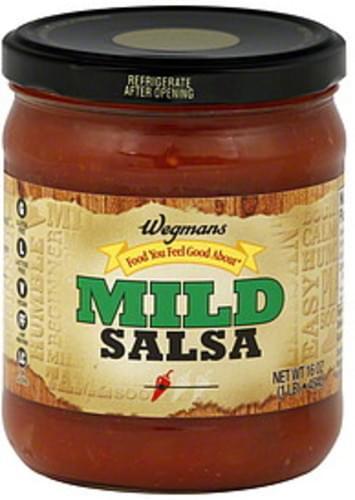Wegmans Mild Salsa - 16 oz