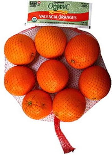 Wegmans Valencia, Organic Oranges - 64 oz