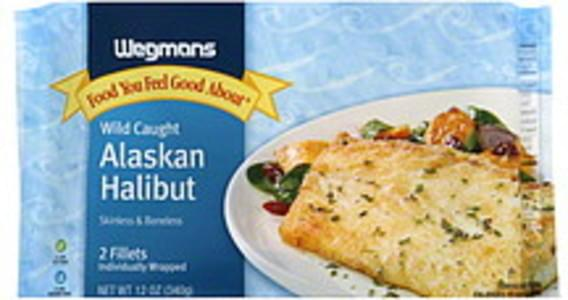 Wegmans Alaskan Halibut Wild Caught