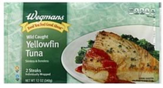 Wegmans Tuna Yellowfin, Wild Caught
