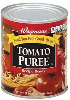 Wegmans Tomato Puree